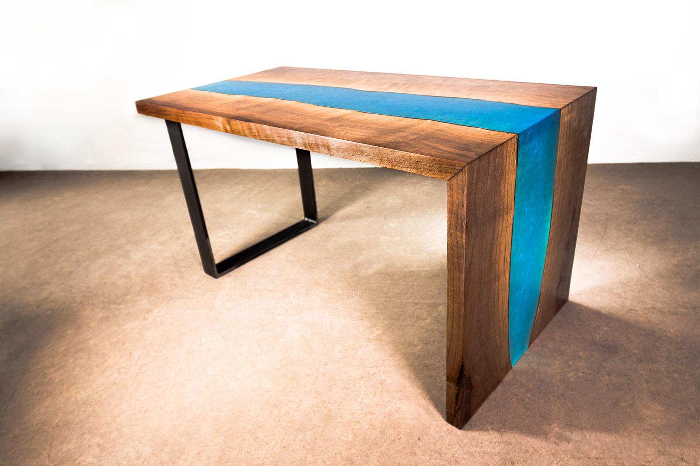 amazon live edge resine mano paris. Black Bedroom Furniture Sets. Home Design Ideas
